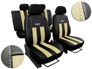 Autopotahy XSARA PICASSO, 5 míst, od r.1999-2010, GT kožené s alcantarou béžové