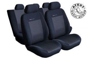 Autopotahy Seat Alhambra II, od r. 2010, 5 míst, dětská sedačka,černé LUX STYLE