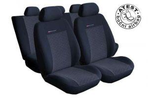 Autopotahy Seat Alhambra II, od r. 2010, 5 míst, dětská sedačka, antracit LUX STYLE