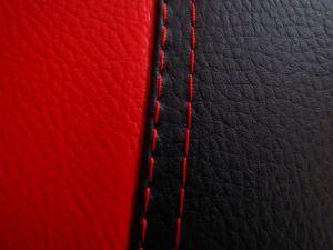 Autopotahy Volkswagen Golf IV, s loketní opěrkou, od r 1997-2006, kožené EXCLUSIVE červené