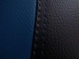 Autopotahy Volkswagen Golf IV, s loketní opěrkou, od r 1997-2006, kožené EXCLUSIVE modré