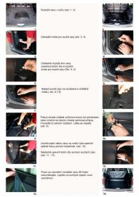 Vana do kufru Opel Combo Tour, BOOT- PROFI CODURA
