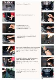 Vana do kufru Renault Kangoo II, 5 místný, od r. 2008, BOOT- PROFI CODURA