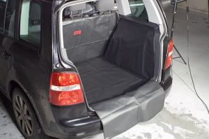 Vana do kufru VW Golf VI, 3/5 dveř 10/2008-10/2012 s dojezdovým kolem, BOOT- PROFI CODURA