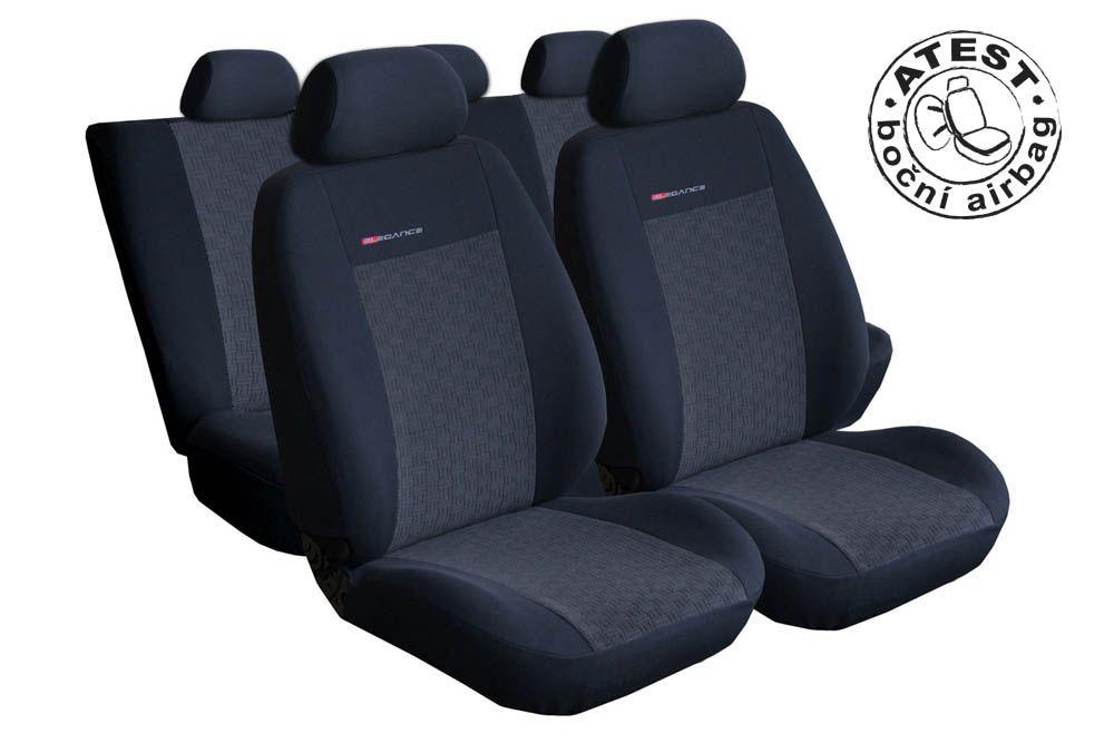 Autopotahy Ford Tourneo Connect, od r. 2013, 5 míst, antracit