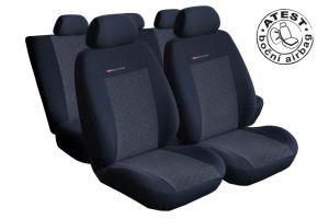 Autopotahy Seat Leon II, od r. 2005, antracit