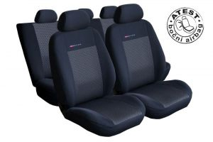 Autopotahy Seat Toledo II, od r. 1999-2005, černé