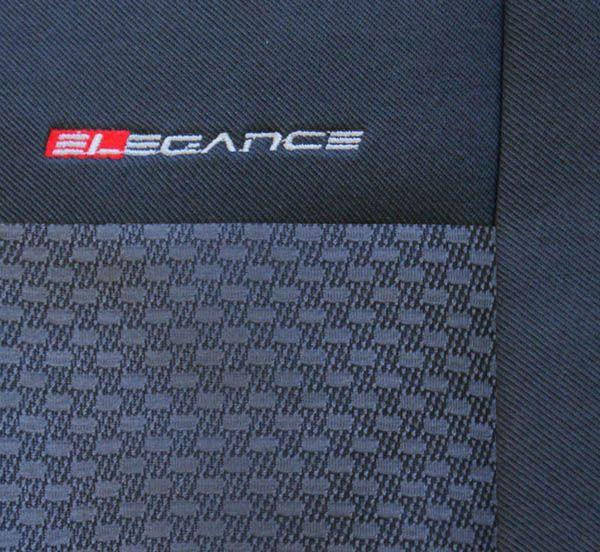 Autopotahy Citroen C4 Picasso I, od r. 2006-2013, 5 míst, černé Vyrobeno v EU