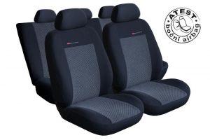 Autopotahy Dacia Lodgy od r. 2012, 7 míst, BEZ STOLKŮ A BEZ LOKETNÍ OPĚRKY, šedo černé