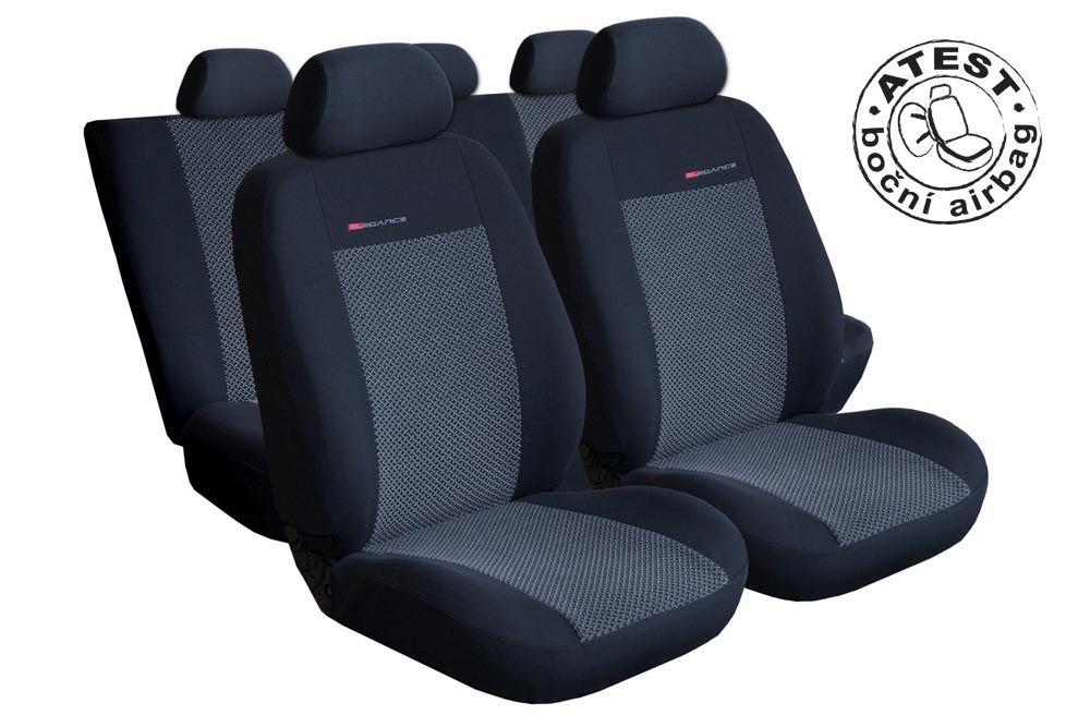 Autopotahy Hyundai I 30 CW, kombi, I GENERACE, od r. 2007-2012, šedo černé Vyrobeno v EU