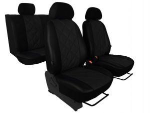 Autopotahy Nissan Qashqai I, bez zadní loketní opěrky, od r. 2006-2010, EMBOSSY černé