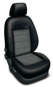 Autopotahy FORD C-MAX II,5 míst, od r. 2011, AUTHENTIC VELVET černošedé