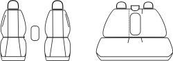 Autopotahy RENAULT KADJAR, od r. 2015, Dynamic šedé