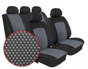 Autopotahy FIAT QUBO, 5 míst, od r. 2009, Dynamic šedé
