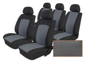 Autopotahy Ford Galaxy III, od r. 2006-2015, 5 míst, Dynamic šedé