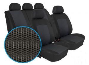 Autopotahy OPEL MOVANO B,3 MÍSTA, dělené dvojopěradlo a sedadadlo, od 2010, Dynamic grafit