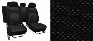 Autopotahy CITROEN C3 AIRCROSS, se zadní loketní opěrkou, od r. 2017, VIP černé