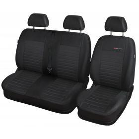 Autopotahy Opel Movano B, 3 místa, dělené dvojopěradlo a sedadlo, od r. 2010, prolis