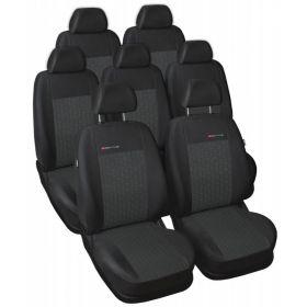 Autopotahy Seat Alhambra II, od r. 2010, 7 míst, dětská sedačka, antracit