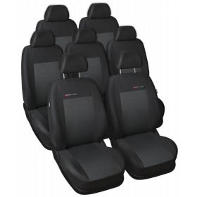 Autopotahy Seat Alhambra, od r. 94-2010, 7 míst, černé Vyrobeno v EU