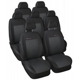 Autopotahy Volkswagen Sharan, od r. 94-2010, 7 míst, černé