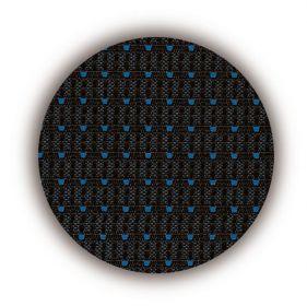 Autopotahy VOLKSWAGEN T6, 6 míst, od r. 2015, AUTHENTIC PREMIUM, žakar modrý