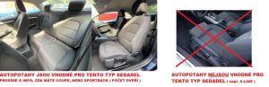 Autopotahy AUDI A5 8T SPORTBACK, COUPE, od r. 2007-2016, AUTHENTIC DOBLO, žakar modrý